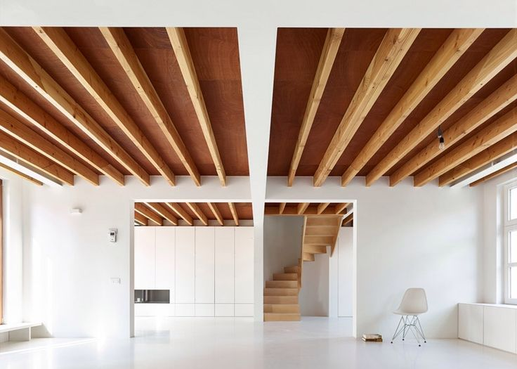 66 best ceilings images on Pinterest Architecture interiors - interieur mit holz lamellen haus design bilder