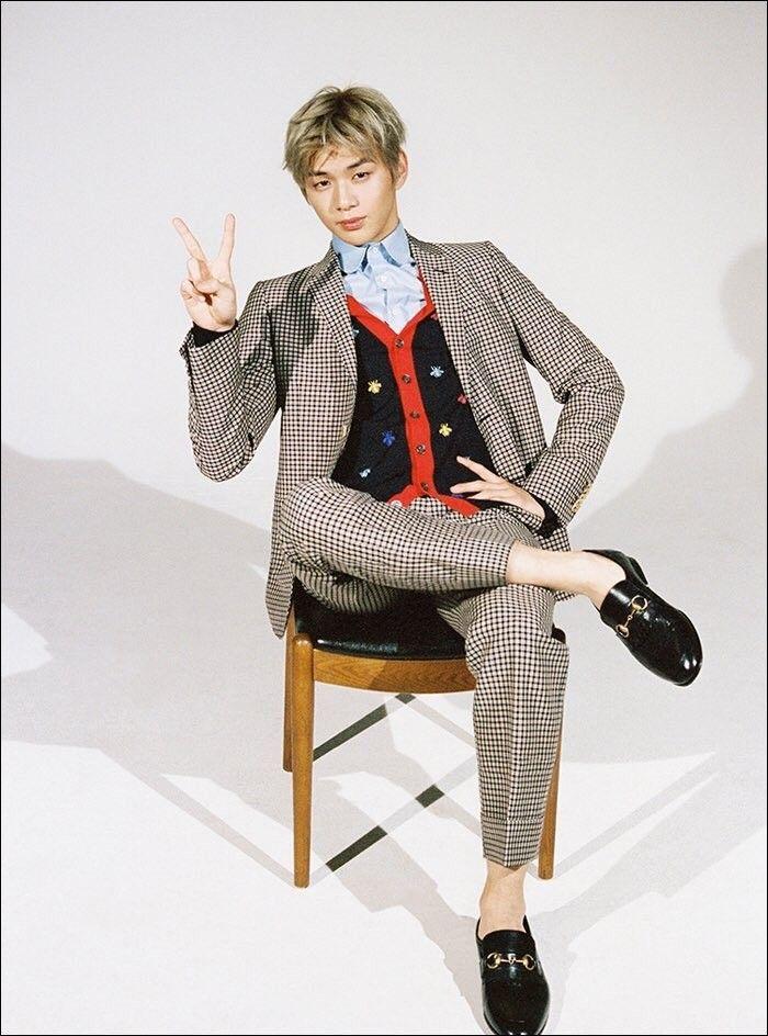 Wanna One Kang Daniel GQ Magazine Preview