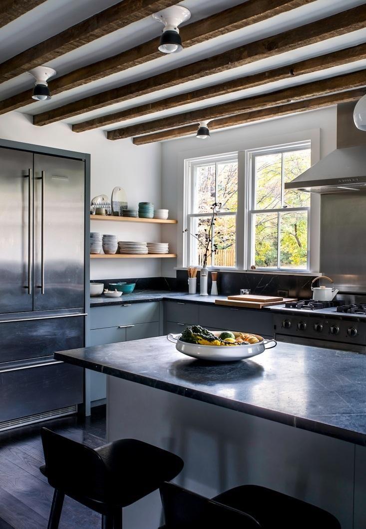 Modern farmhouse kitchen in the Hudson Valley.