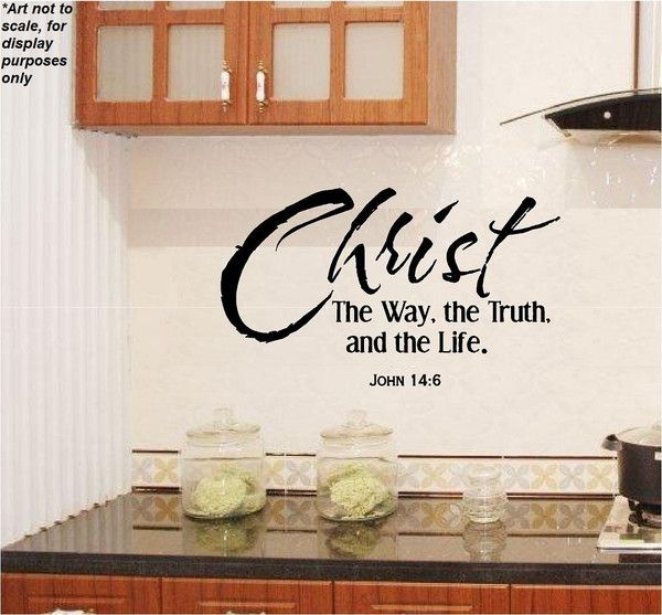 The Way, The Truth, The Life Wall Art #john14:6 #inspirational