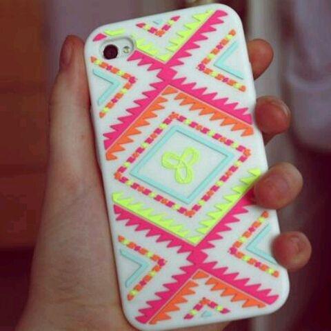 Love this neon iPhone case!