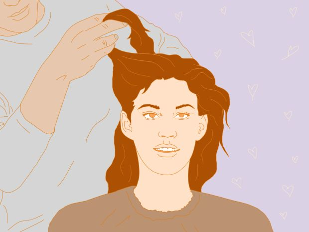 How to grow your hair back after a period of it falling out