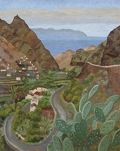 Agarete, Gran Canaria, Cedric Morris.