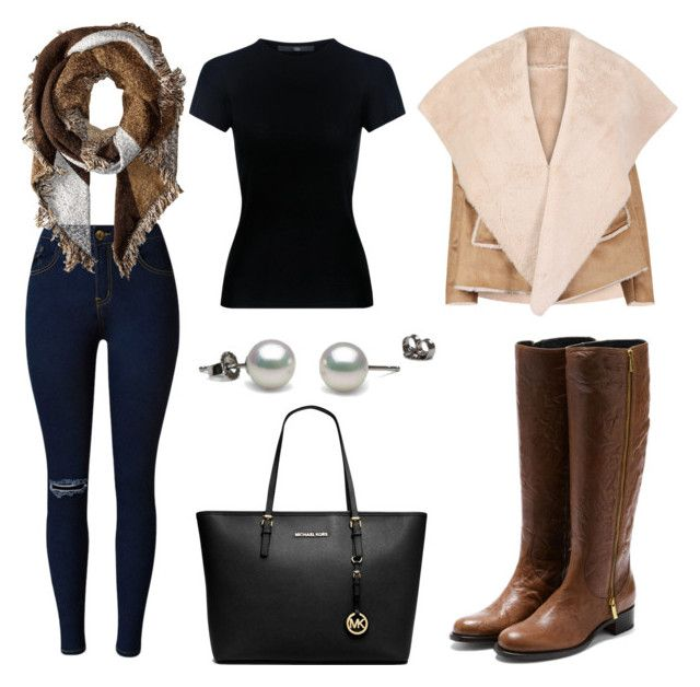 """Untitled #20"" by terka-zelenkova on Polyvore featuring Rupert Sanderson, TIBI, Michael Kors and San Diego Hat Co."