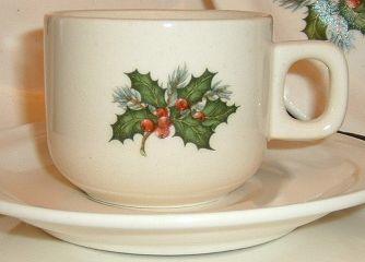 kerst servies -hulst kan altijd