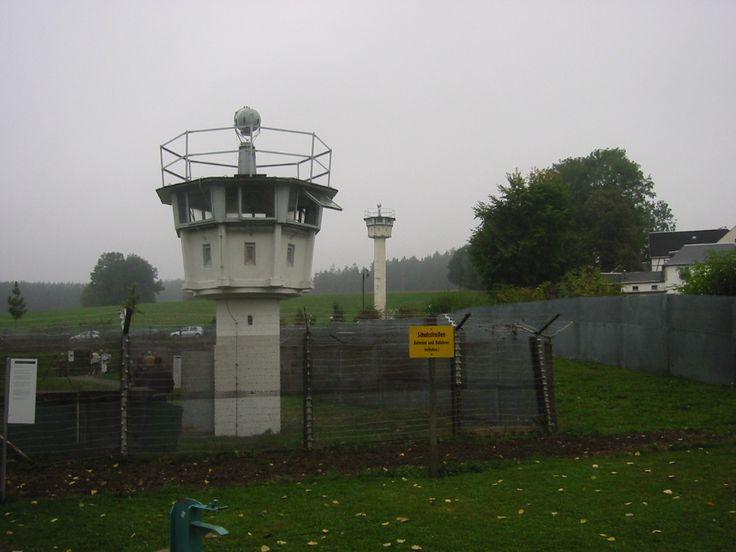 East German border tower.