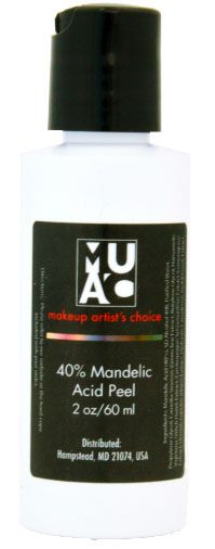 40% Mandelic Acid Peel from Makeup Artists Choice - not a beginner peel, acne, fungal