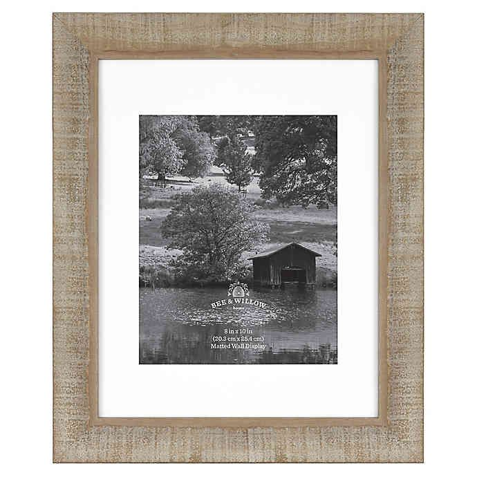 Bee Willow Home Matted Wood Picture Frame In 2020 Picture On Wood Wood Picture Frames Wood Photo Frame