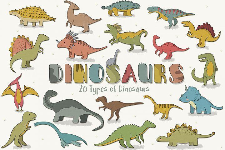 Dinosaurs  - Free Design of The Week Design