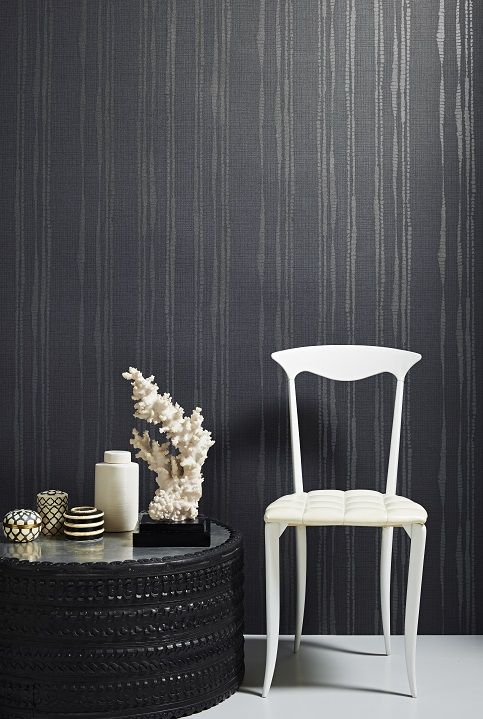 Laddered Stripe http://www.kellyhoppen.com/shop-by-type/wallpaper/laddered-stripe-blue-wallpaper