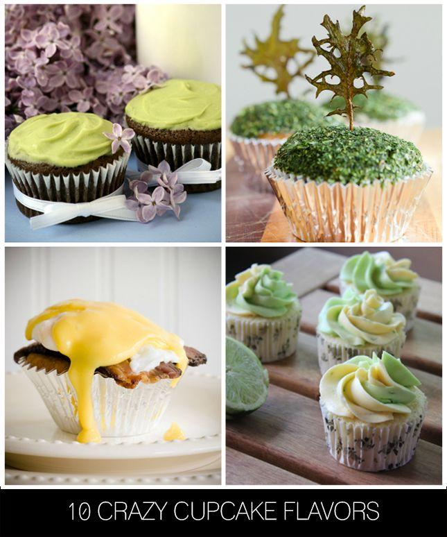 10 Crazy Cupcake Flavors Cake Flavors Cupcake Flavors