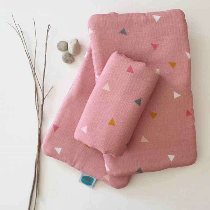 www.pinknomore.pl muslin-bamboo pillow/swaddle/nappies