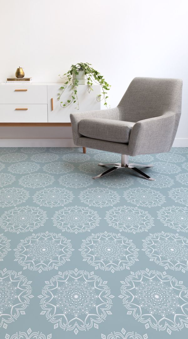 mandala pattern vinyl flooring pattern vinyl flooring pinterest rh pinterest com