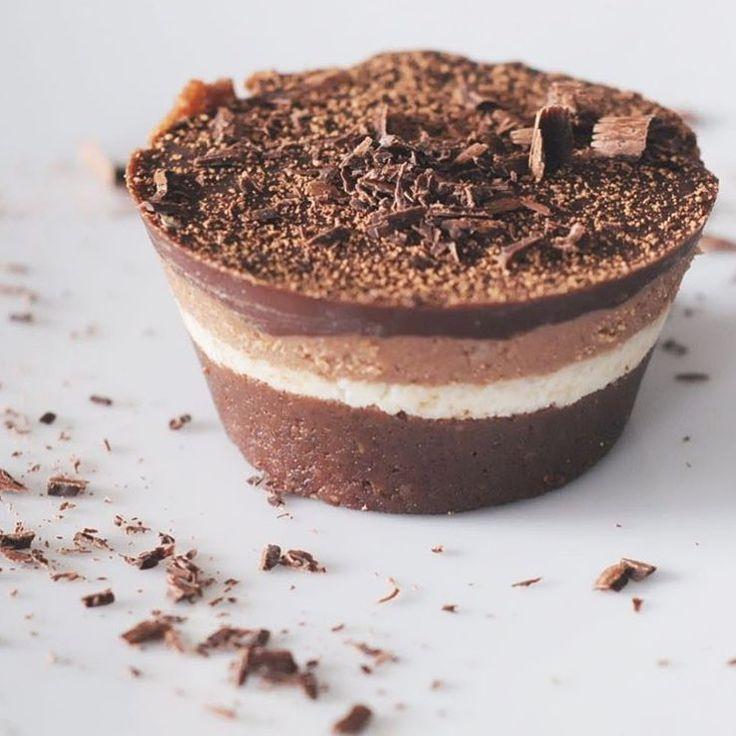 "Best Of Vegan on Instagram: ""Raw tiramisu tarts by @nourishingnutters"