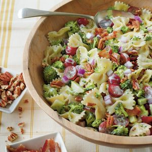 Broccoli, Grape, and Pasta Salad | MyRecipes.com