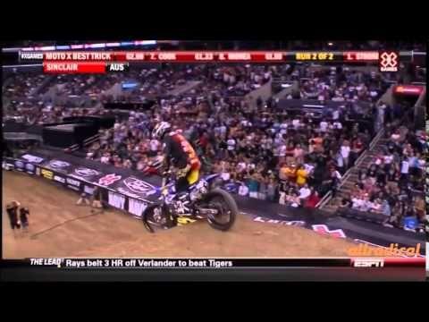 X games motocross best trick