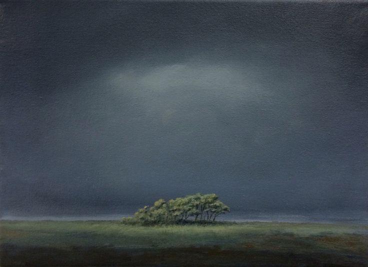 Igor Meyer. Homage á Rådlund.  Oil on canvas. 33x24 cm. 2016.