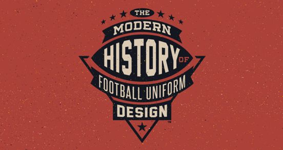 The Modern History of Football Uniform Design | Logo Design | The Design Inspiration