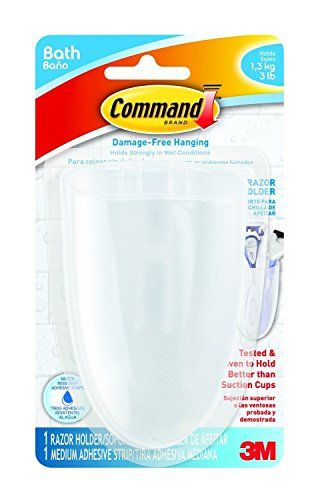 Command BATH16ESE 1 Holder 1 Medium Strips Razor Holder 2PACK >>> More info could be found at the image url.