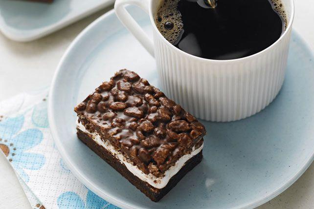 Barres de céréales à la guimauve et au chocolat Image 1