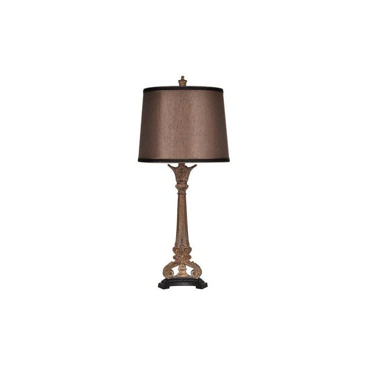 Cambridge Crestview Collection 32 Inch Tuscan Beige Table Lamp