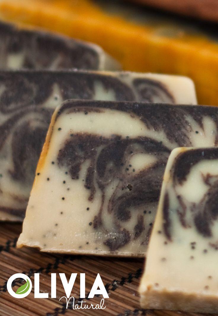 Fahéj-mák szappan/Cinnamon and poppy seeds soap