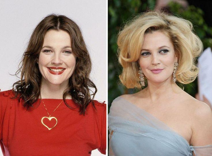"""Simpatica, imprevedibile, di talento... Drew Barrymore è il genere di donna che non ti aspetti, quella che spesso cade, ma sa rialzarsi sempre! Da """"50 volte il primo bacio"""" a """"Batman Forever"""" fino a """"Charlie's Angels"""" i suoi capelli sono cambiati spesso e volentieri. Ma voi come la preferite? MORA o BIONDA? E voi? Se avete intenzione di cambiare il vostro look affidatevi solo ai migliori colori sul mercato, visitate i siti di AloXXi e Tierra by Fuente: www.aloxxi.it e www.fuenteitalia.it"""