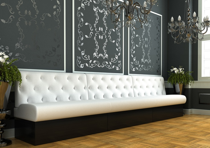Donald plus Capitons Horeca banken : Horeca meubilair, design meubilair en horecainterieur