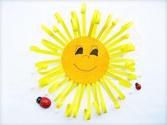 Sonne aus Papier