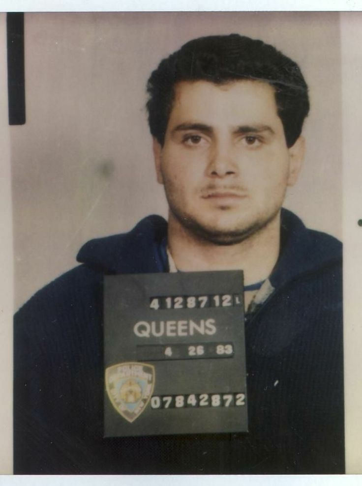 "1987 pic of Carmine ""The Bull"" Agnello, onetime son in law of John Gotti."