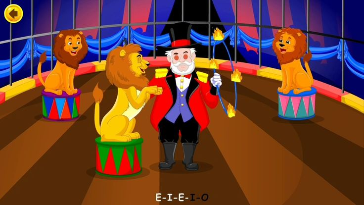 Old Macdonald Had A Circus   Kids Nursery Rhymes Songs   Sing Along With...