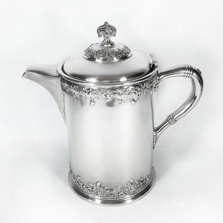 Victorian1878 Silver Plate Insulated Water Pitcher  Wilcox SP Co. Meriden Conn. #WilcoxSilverplate