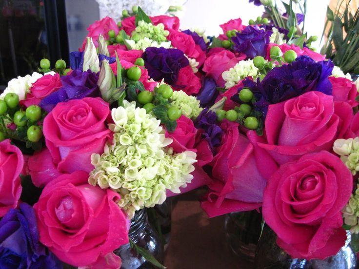 fuschia and purple wedding theme - Google Search