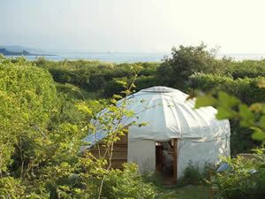 Organic Holidays - Scilly Yurt, Scilly Organics, St Martin's. TR25 0QN
