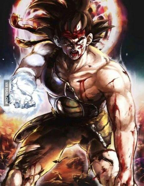 This legend. Bardock, father of Goku.
