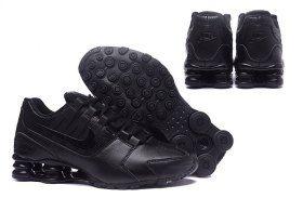 sale retailer 784d6 920bc Elegant Graceful Nike Shox Avenue Shox NZ Triple Black Men s Sport Athletic  Running Shoes Sneakers