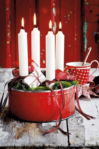 Låt inte förra årets pepparkaksburk ligga och skräpa. Låt adventsljusen få brinna i den istället!