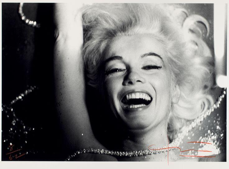 uno dei duemila scatti di Stern nell'ultima seduta fotografica del 1962