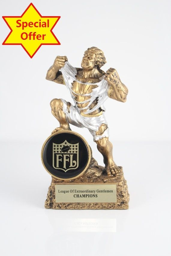 59.00$  Watch here - http://alir48.worldwells.pw/go.php?t=32554566372 - Fantasy Football Monster Trophy Free Engraving 6.8 inches (17cm)