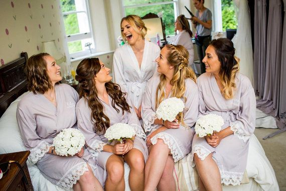 Fawn Lacie Wedding Robe Perfect for Brides by PersonalisedBridal