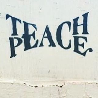 Teach peace… ✌#InternationalPeaceDay @proyectopazla