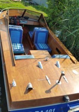 Sportboot Lotos ähnlich Classic Runabout Unikat Wasserskiboot in Brandenburg - Zeuthen | Motorboote kaufen | eBay Kleinanzeigen