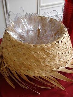 Decoração de festa junina chapéu com talheres