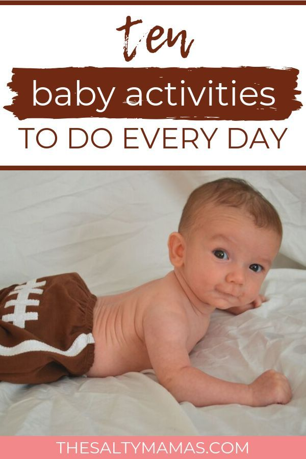10 Activities To Include In Your Daily Schedule For Babies Baby Learning Activities Infant Activities Baby Learning