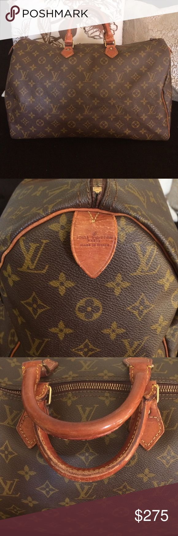 Authentic Louis Vuitton Speedy 40 Monogram Vintage, great condition, from a clean, smoke free home. No trades. Dimensions 14 x 8 Bags Totes