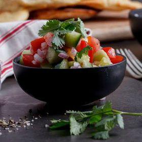 Easy+tomato,+cucumber+and+chilli+sambal