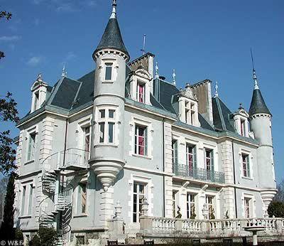château Haltya.. Ustaritz. Aquitaine