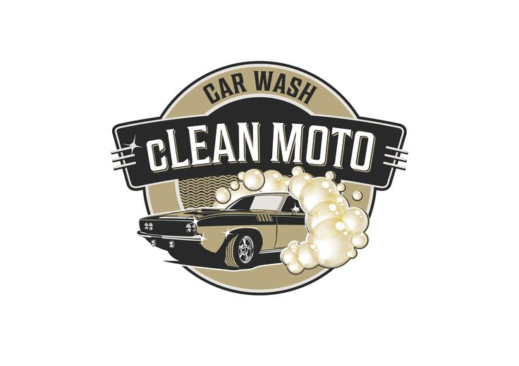 cLEAN MOTO Car Wash logo