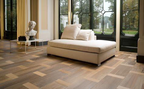 Tørr å tenke nytt! Kult eksempel med det klassiske mønsteret Old Dutch, her vist i form av gulvet Cambridge.