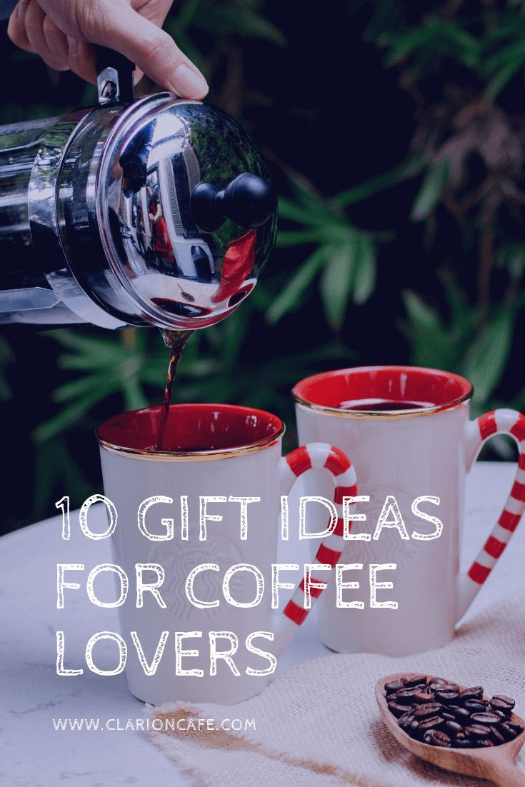 Are You A Coffee Lover Or Know Someone Who Is Check Out This List Of 10 Related Gift Ideas These Gifts Work Well For Christmas Birthdays